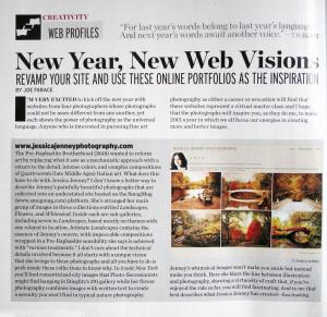 Feature In Shutterbug Magazine